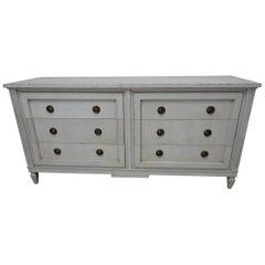 6-Drawer Gustavian Dresser