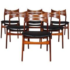 5 Erik Buch Chairs