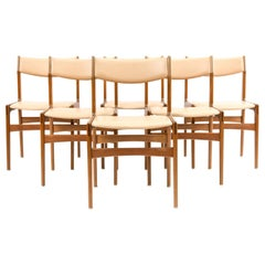 '6' Erik Buch Style Rosewood Side Chairs by Farstrup