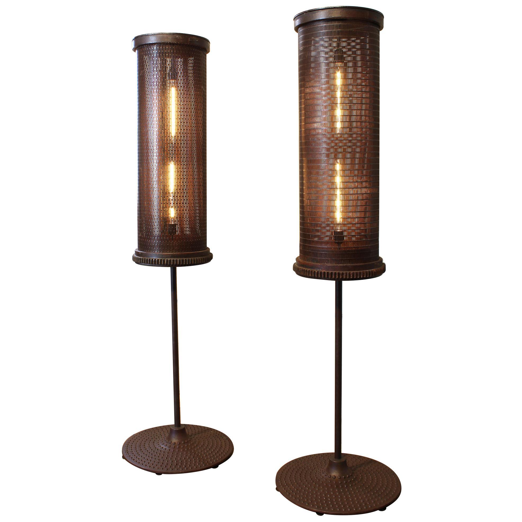 6' Industrial Floor Lamps
