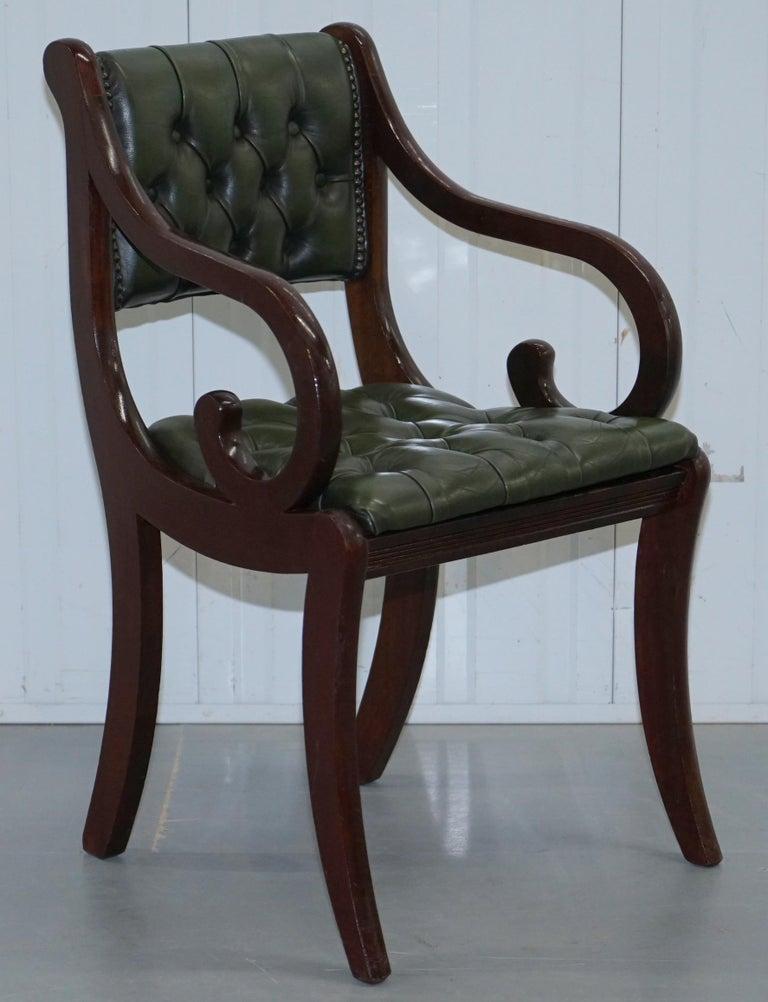 6 Mahogany Beresford And Hicks England Dining Chairs