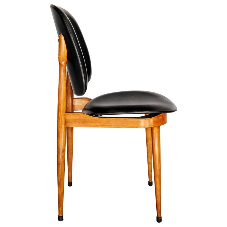 Surprising 6 Mid Century Modern Pegase Beechwood Dining Chairs By Pierre Guariche Baumann Pabps2019 Chair Design Images Pabps2019Com