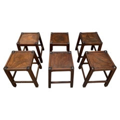 6 Stools for the Resort of Les Arcs
