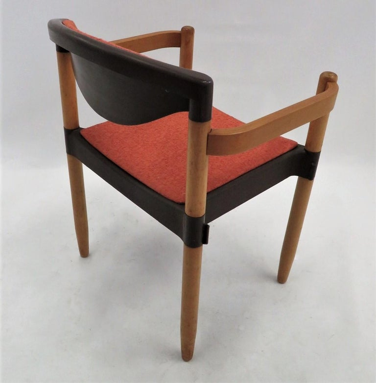 6 Strax Dining Chairs by Casala / Germany 1970s by Harmut Lohmeyer For Sale 4