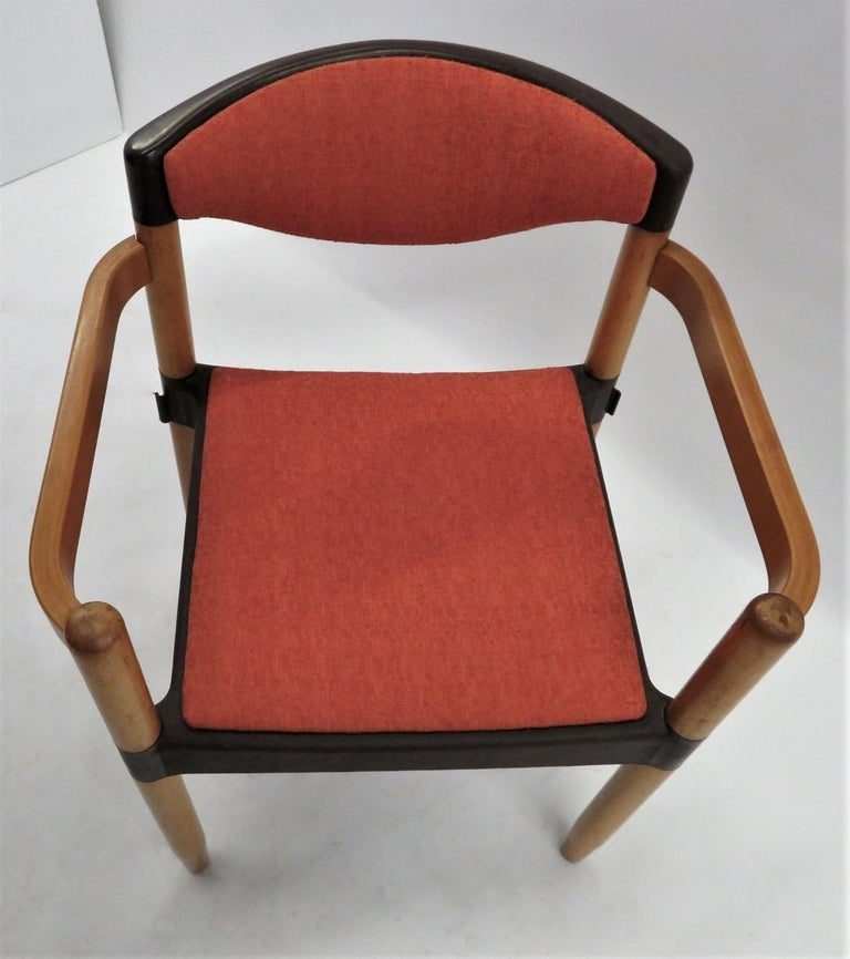 6 Strax Dining Chairs by Casala / Germany 1970s by Harmut Lohmeyer For Sale 5