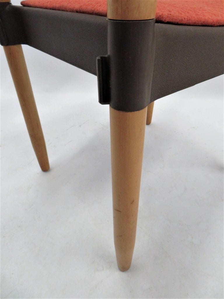 6 Strax Dining Chairs by Casala / Germany 1970s by Harmut Lohmeyer For Sale 7
