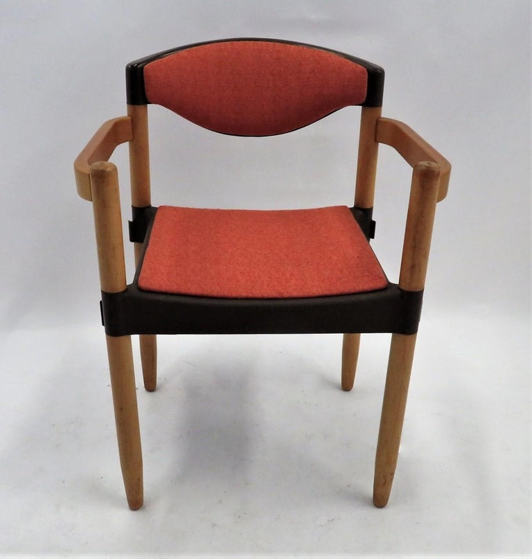 Fabric 6 Strax Dining Chairs by Casala / Germany 1970s by Harmut Lohmeyer For Sale
