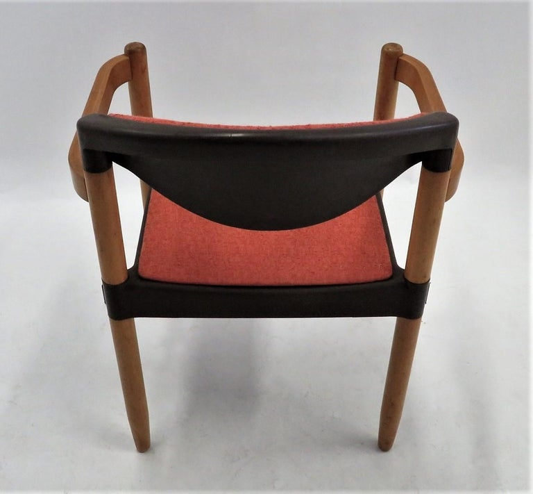6 Strax Dining Chairs by Casala / Germany 1970s by Harmut Lohmeyer For Sale 1
