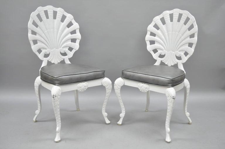 Six Tropitone Fan Shell Back Grotto Chairs Patio Sunroom