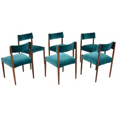 6 Vintage Dining Chairs by Robert Heritage for Archie Shine