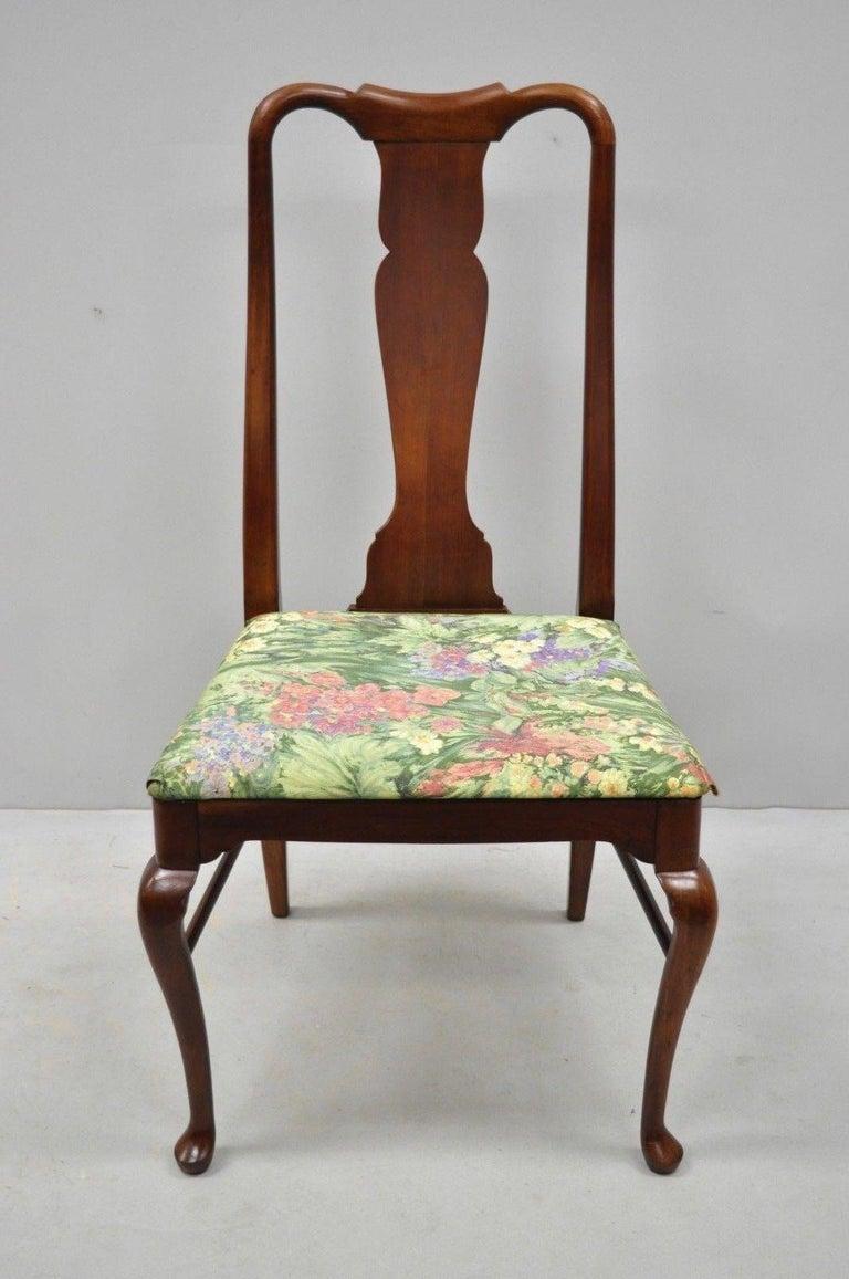 6 Vintage Thomasville Queen Anne Style Solid Cherrywood ...