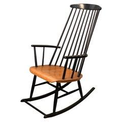 60/70's Rocking Chair, Mademoiselle Rocking Chair, Inspired by Ilmari Tapiovaara