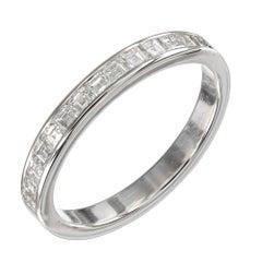 .60 Carat Diamond Platinum Wedding Band Ring