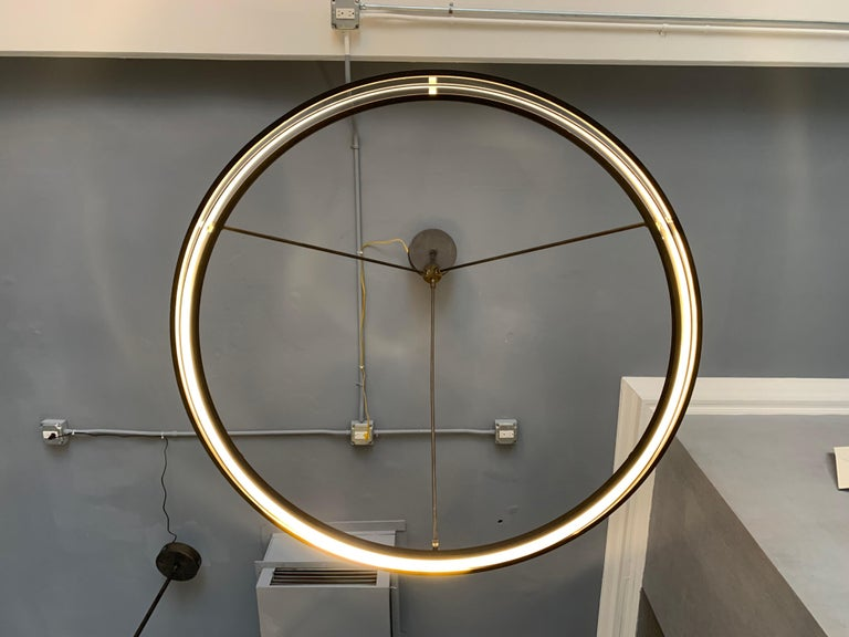 Peralta Chandelier In Good Condition For Sale In Los Angeles, CA
