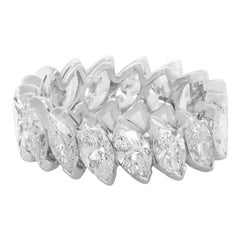 6.00 Carat Marquise Diamond Eternity Band