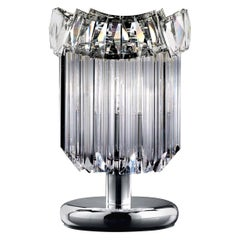 6008/LG T1 Clear Table Lamp