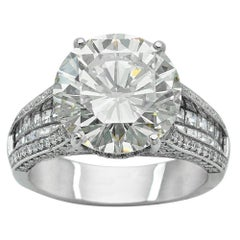 6.01 Carat Diamond Engagement Ring