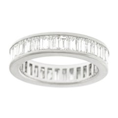 6.0ct Diamond Set Gold Eternity Band