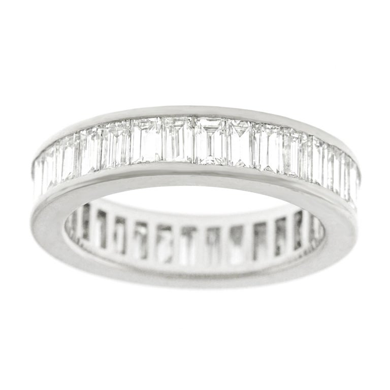 6.0 Carat Diamond Set Gold Eternity Band