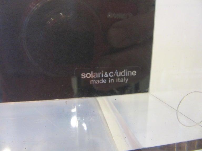 60's-70's Large Solari & C/Udine Flip Clock, Italy In Good Condition For Sale In Cincinnati, OH