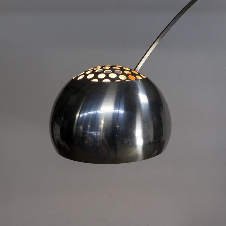 1960s Achille Castiglioni Arco Floor Lamp For Flos For