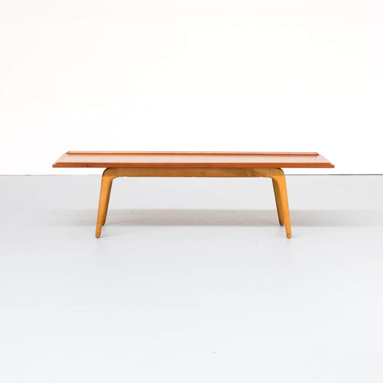 Danish designer-cabinetmaker Aksel Bender Madsen (1916-2000) created a number of classic midcentury designs in the late 1940s, 1950s, and 1960s, often working jointly with his business partner and friend Ejner Larsen (1917-1987). This well known