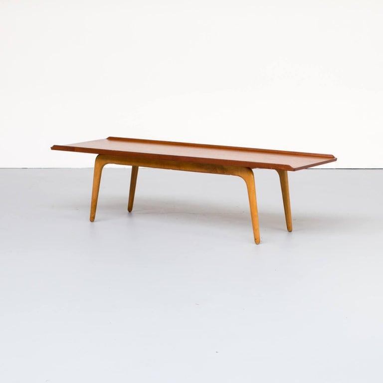 Mid-Century Modern 1960s Aksel Bender Madsen Coffee Table for Bovenkamp For Sale