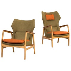 1960s Aksel Bender Madsen 'Karen & Edith' Fauteuil for Bovenkamp Set/2