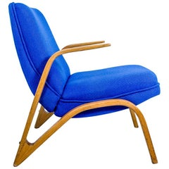 1960s Armchair from Scandinavia, Newly Upholstered