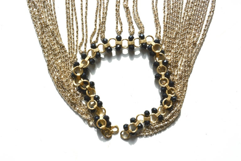 Women's or Men's 60s Body Chain Necklace / Halter  For Sale