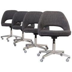 1960s Eero Saarinen Model 71 Office Chair for Knoll International Set of 4