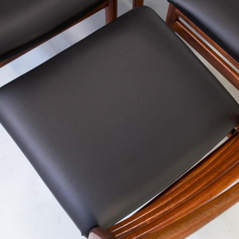 1960s Erling Torvits Dining Chair for Sorø Stolefabrik Set of 4 4