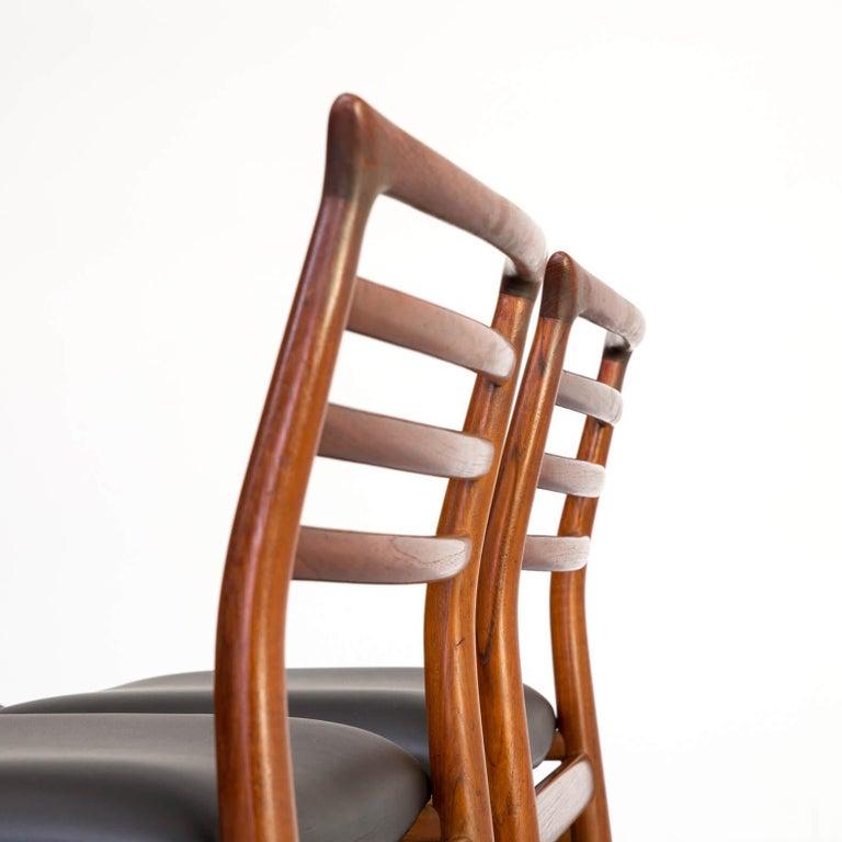 1960s Erling Torvits Dining Chair for Sorø Stolefabrik Set of 4 5