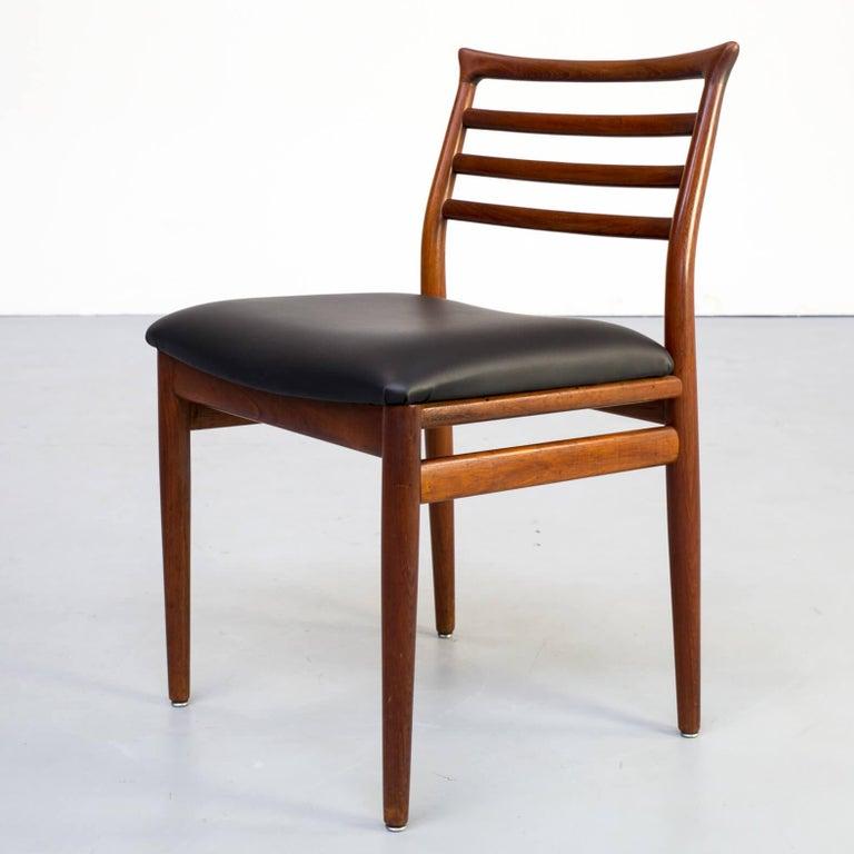 1960s Erling Torvits Dining Chair for Sorø Stolefabrik Set of 4 7