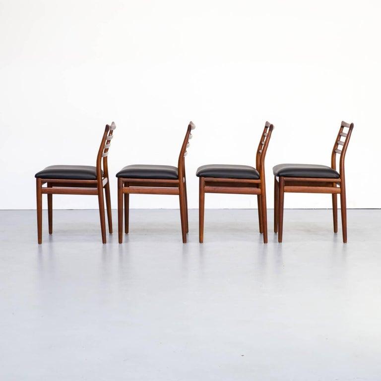 Danish 1960s Erling Torvits Dining Chair for Sorø Stolefabrik Set of 4
