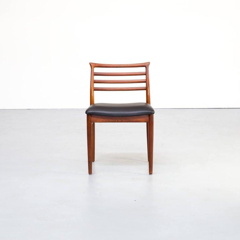 20th Century 1960s Erling Torvits Dining Chair for Sorø Stolefabrik Set of 4