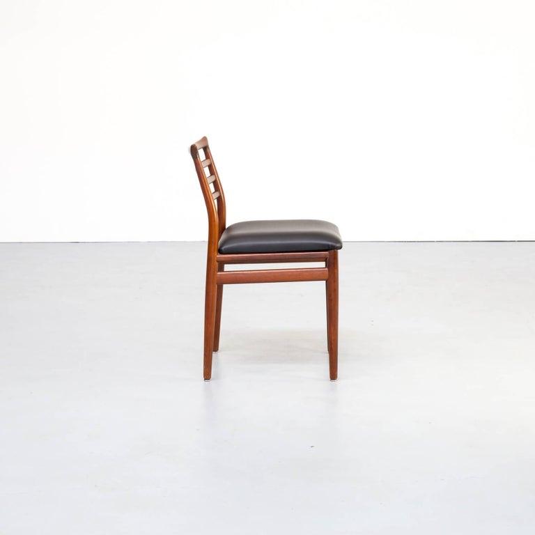 1960s Erling Torvits Dining Chair for Sorø Stolefabrik Set of 4 1