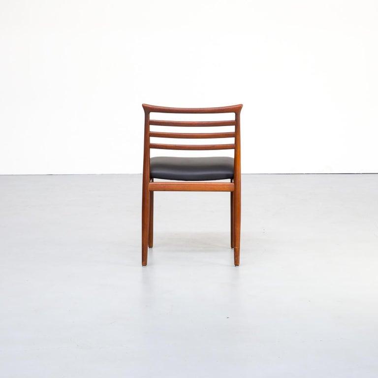 1960s Erling Torvits Dining Chair for Sorø Stolefabrik Set of 4 2
