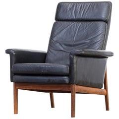 1960s Finn Juhl 'Jupiter' Lounge Chair for France & Søn