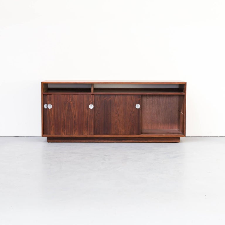 Mid-Century Modern 1960s Finn Juhl Rosewood Side, Lowboard from the Diplomat Series for Cado For Sale