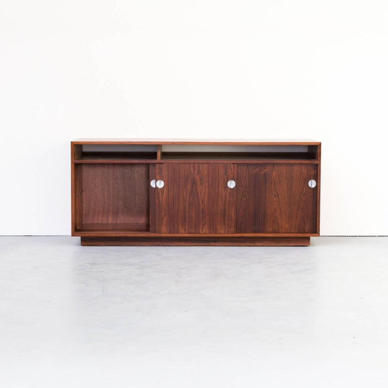 Danish 1960s Finn Juhl Rosewood Side, Lowboard from the Diplomat Series for Cado For Sale