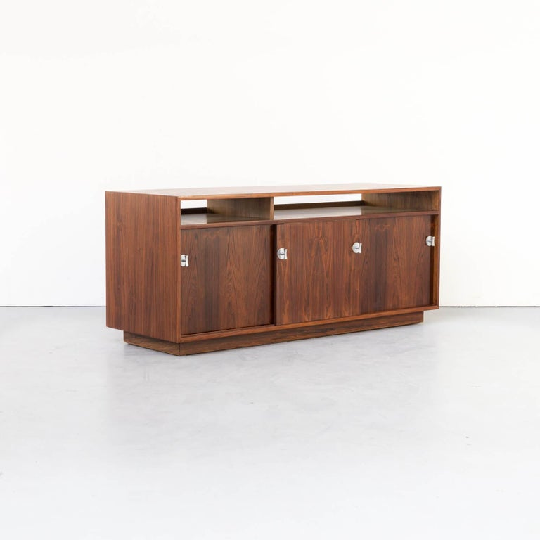 20th Century 1960s Finn Juhl Rosewood Side, Lowboard from the Diplomat Series for Cado For Sale