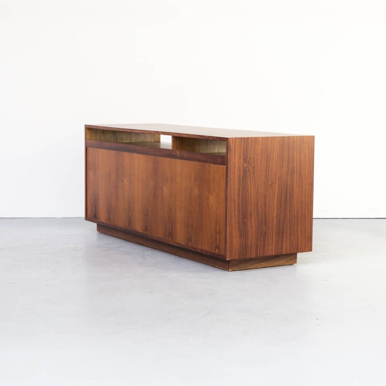 1960s Finn Juhl Rosewood Side, Lowboard from the Diplomat Series for Cado For Sale 1