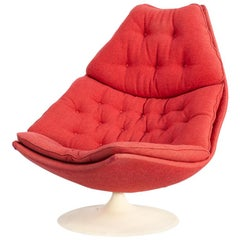 1960s Geoffrey Harcourt F588 Lounge Fauteuil for Artifort
