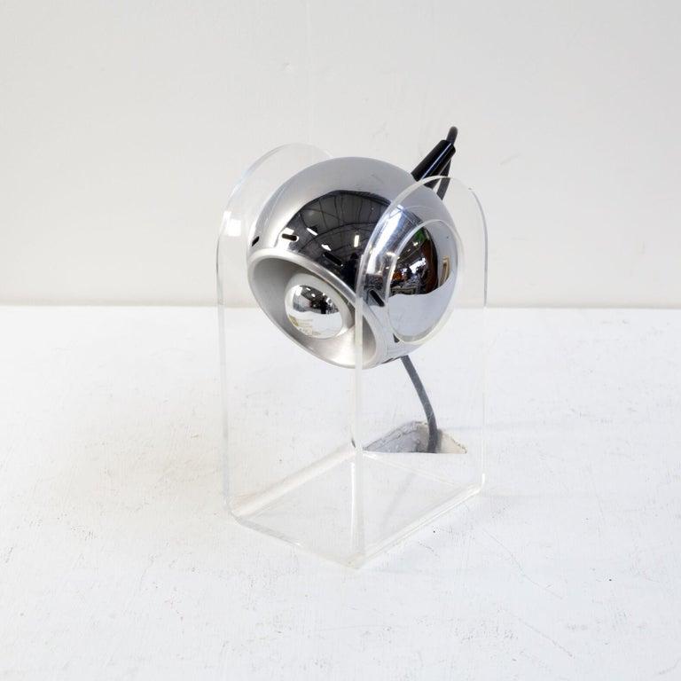 20th Century 70s table lamp for Insta Sensorette set/2 For Sale