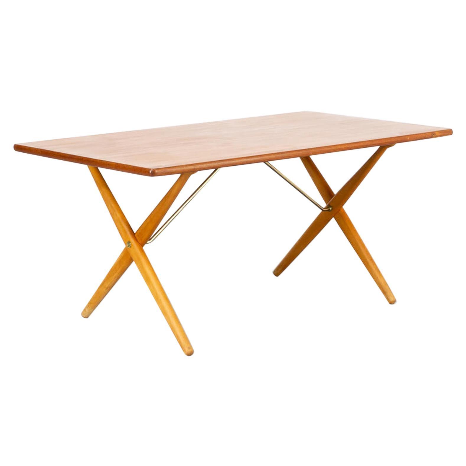 60s Hans J. Wegner 'AT-303' Dining Table for Andreas Tuck