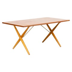60s Hans J. Wegner 'AT-303' Dining Table for Andreas Tuck