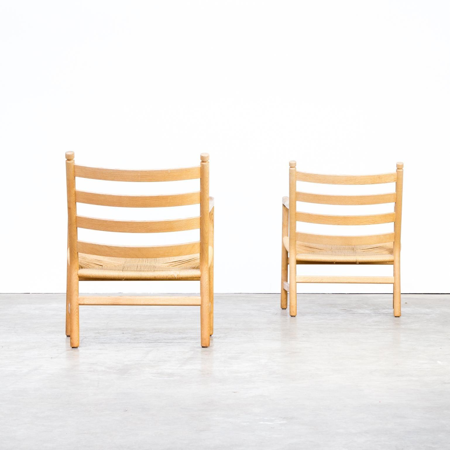 Hans for HansenSøn 'CH44' Carl 1960s Wegner fauteuils fyY76gb