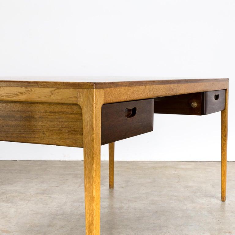 1960s Hartmut Lohmeyer Executive Writing Desk for Wilkhahn For Sale 4
