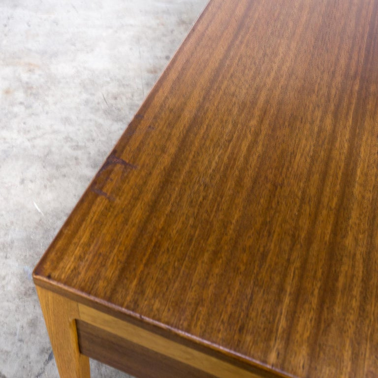 1960s Hartmut Lohmeyer Executive Writing Desk for Wilkhahn For Sale 5